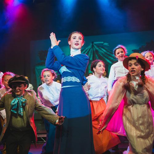 Mary Poppins production at Christleton High School