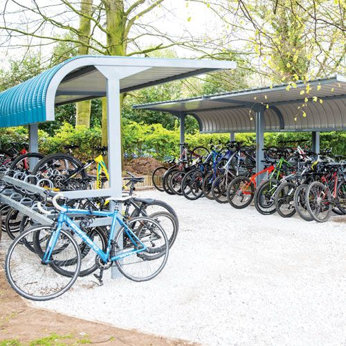 New bike shed in Christleton
